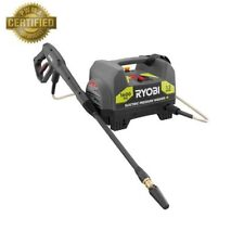 Electric Pressure Washer 1600 Psi 1.2 Gpm Cold Water Wand Nozzle Hose Storage
