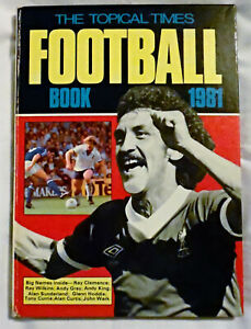 Topical Times FOOTBALL Book 1981