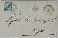 COSENZA - ITALIA REGNO - storia postale: BUSTA da Spezzano Albanese 1865