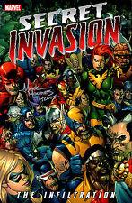 Secret Invasion The Infliltration Trade Paper Back signed Mark Morales 1st PRINT