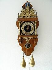 Zaanse Warmink Dutch Wall REPAIR Clock Vintage (Junghans Hermle Kienzle Era)