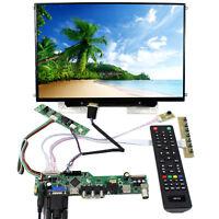 "TV HDMI VGA AV USB AUDIO LCD Controller Board 13.3"" 1280x800 B133EW07 LCD Screen"