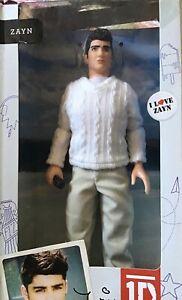 """1Direction Doll 2012 Zayn 11"""" 1D NIB"""
