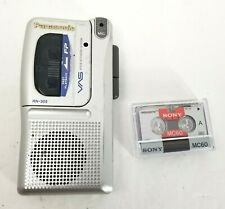 Panasonic RN-305 Handheld Voice Activated System Micro Cassette Recorder w Tape