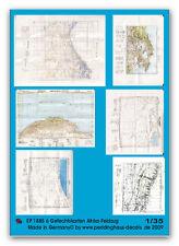 Peddinghaus 1885 1/35 6 Mappe Di Battaglia Africano Stampa Su Carta