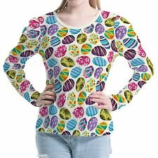 Egg Rabbit Women's Clothing Bubble Sleeves Top Shirt Blouse b00491