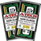 16GB 2 x 8GB PC3-12800 Laptop SODIMM DDR3 1600 Memory RAM PC3L 16G DDR3L