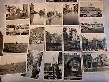 Foto Sammlung Amsterdam Holland Grachten, Käsemarkt, 80 Fotos Völkerkunde