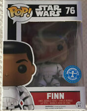 Funko Pop Vinyl Star Wars Finn as Stormtrooper Pop! Vinyl Bobble Head (76) NEW