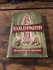Hermann Hesse Goldmund Rare Excellent Condition 1959 Great Britain Edition