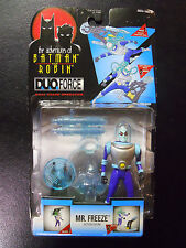 STILL SEALED! 1996 Kenner Adventures of Batman & Robin DUO Force Mr Freeze