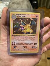 Base Set 1St Edition Shadowless Charizard 4/102 Mint *Proxy*Custom🔥Holy Grail