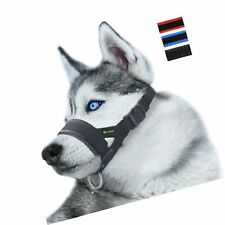 Nylon Dog Muzzle for Small,Medium,Large Dogs Prevent from Biting,Barking and .