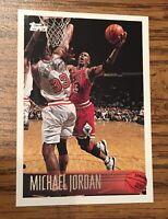 MICHAEL JORDAN 1996-97 Topps #139 Chicago Bulls Last Dance 🏀