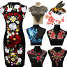 Blossom Flower Applique Clothing Embroidery Patch Sticker Sew On Cloth DIY Craft