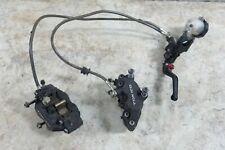 03 Suzuki SV 1000 SV1000 front brake calipers & master cylinder