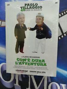 COM'E' DURA L'AVVENTURA - (1987) **Dvd*n°28*Paolo Villaggio*** ....NUOVO