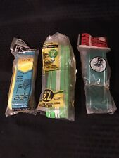 3 Vintage Lawn Patio Chair Replacement Webbing Strapping Yellow Green White