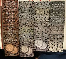 38 DIFFERENT COIN FOLDER SET - INDIAN HEAD CENTS THRU PRESIDENTIAL DOLLARS