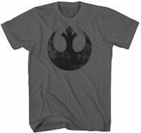 NWT Men's Star Wars Rebel Alliance Distressed T-Shirt