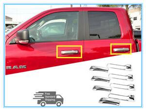 FOR 2010-2018 Dodge Ram 1500 2500/3500 Chrome 4 Door Handel Cover Covers