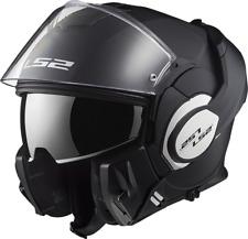 Ls2 casco moto abatible Ff399 Valiant mono Matt negro L