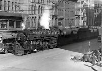 New York Central photo Steam Locomotive 5341 4-6-4 Hudson Train Syracuse, Ny