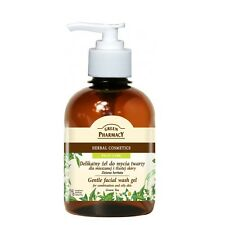 Green Pharmacy Gentle Face Wash Gel Green Tea Oily and Mixed Skin Paraben FREE