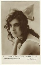 PORTRAIT OF ONE OF THE MOST BEAUTIFUL WOMEN OF FRANCE-PHOTOGRAPH BY ALFRED NOYER