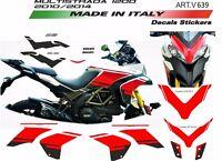 Kit adesivi per Ducati Multistrada 1200 2010/2012