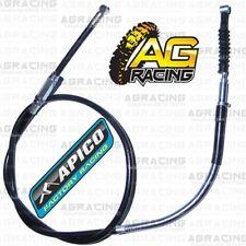Apico Black Clutch Cable For  Kawasaki KX 250 1990-1998 KX 500 1990-2004 MotoX