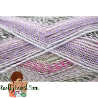 Major Bulky Universal Yarn WHIRL Gray Lavender Acrylic #5 Bulky Weight 393y 200g
