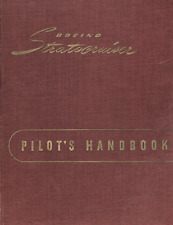 1940's 50's Boeing 377 Stratocruiser manuals HISTORICAL ARCHIVES  RARE DETAIL