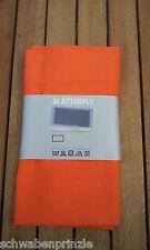150 x 47cm Orange 100%Baumwolle Blumengardine Gardine IKEA SLATTERFLY