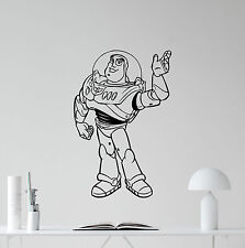 Toy Story Buzz Lightyear Wall Decal Vinyl Sticker Nursery Decor Poster 199hor