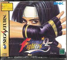 USED The King of Fighters '95 (w/ 1MB RAM Cart) Japan Import SEGA Saturn