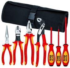 Knipex 9K-98-98-27-Us Pliers / Screwdriver Tool Set w/Cutters, 7 Piece