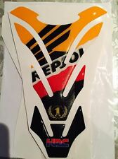 Motorcycle Tank Pad Protector Sticker   (Repsol) HRC