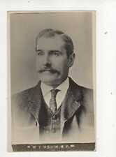 William Tyson Wilson MP Westhoughton Circa 1906 RP Postcard