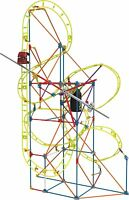 KNEX Thrill Rides Clock Work Roller Coaster Building Ages 7+ New Toy Boys Girls