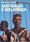 L16 Australia e Melanesia Popoli nel mondo De Agostini 1979