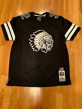 Hustle Gang Mens Jersey Black /white Large New Without Tags