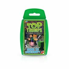 The Independent And Unofficial Guide To Minecraft Top Trumps Card Game - New