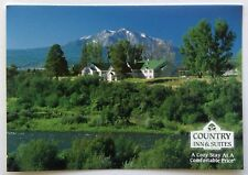 Colrado Carbondale Mt Sopris and Country Inn & Suites Postcard (P283)