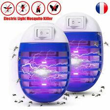 2pcs Tueur Anti moustiques mouche UV Lampe Insectes électrique à lumière LED FR