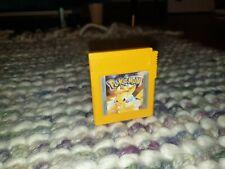 Pokemon Yellow Nintendo Gameboy Cartridge PAL