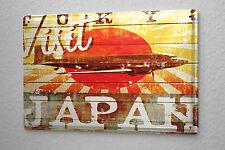 Travel Airport Decorative Tin Sign  Airplane women swimsuit beach pine cones Met