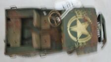 RaRE Vintage Arnold 2500 1949 Military Police jeep German tin toy AS IS or Parts