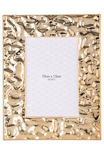 NEW Vue Shimmering Photo Frame, 10x15cm - Gold