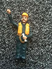 Modello BARCA raccordi GRAUPNER Crew figura 375.14 Dock lavoratore permanente 1:20